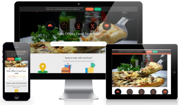 إطلاق موقع طلب الطعام اون لاين في مصر - كاتش فود